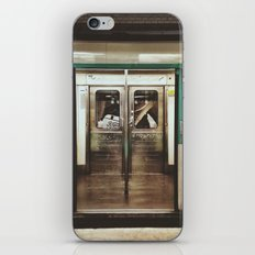 Closing doors iPhone & iPod Skin