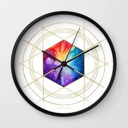 Nebula Titan Sigil Wall Clock
