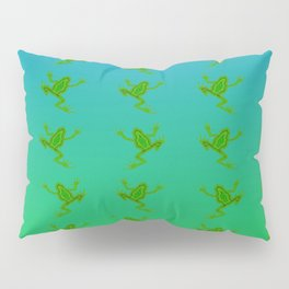 When the frogs goes marching in ... Pillow Sham