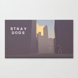 Stray Dogs 01  /  New Dusk Canvas Print