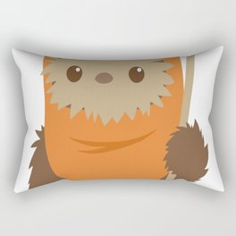 Cartoon Ewok Rectangular Pillow