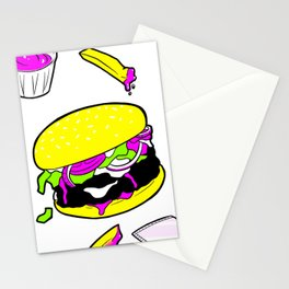 Faster Food Stationery Cards