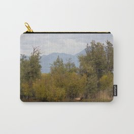 Bull Elk with Fall Colors Carry-All Pouch