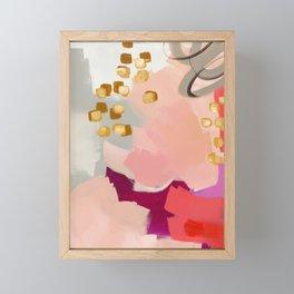 Primrose Pink Framed Mini Art Print