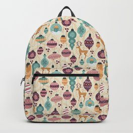 A Golden Christmas Backpack