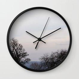 Calm sky Wall Clock