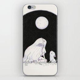 Wolf Girl iPhone Skin