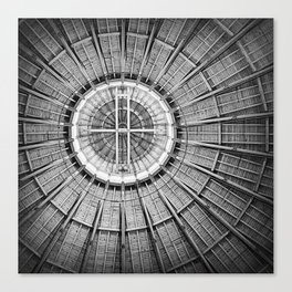 Roundhouse Architecture Canvas Print