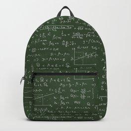 Geek math or economic pattern Backpack