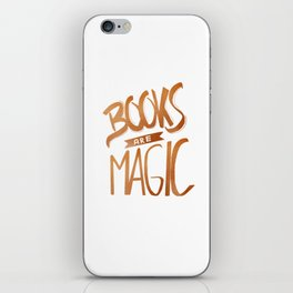 Books are Magic iPhone Skin