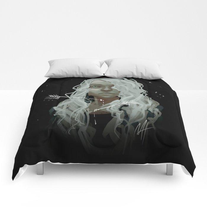 White Arrows Comforters