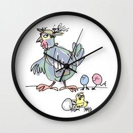 Easter Parade Wall Clock