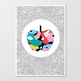 Apple Mess Canvas Print