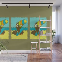 Surfin' Toucan! Wall Mural