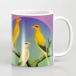 3 Canaries Coffee Mug