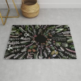 Central Nature at Night Rug
