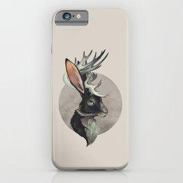 Jackalope Bust iPhone Case