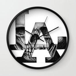 LA skull Wall Clock