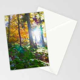 Forest inspiration Stationery Cards
