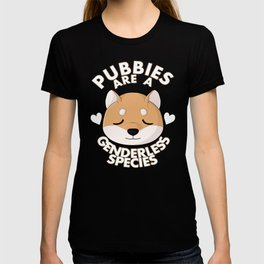 Pubbies are a Genderless Species T-shirt