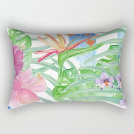 Malia's Tropical Print Rectangular Pillow