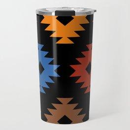 Colorful Southwestern Pattern 538 Travel Mug