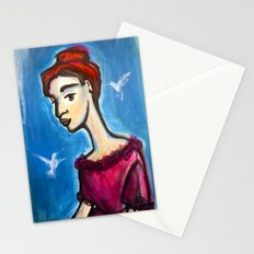 Hungry Ghosts Stationery Cards