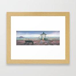 Brighton Sea Front Framed Art Print