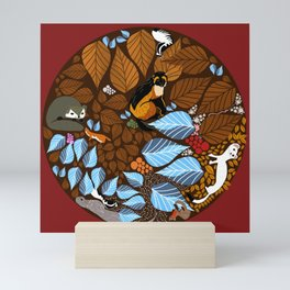 Autumn Mandala Mini Art Print