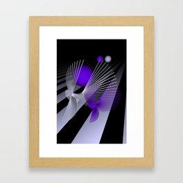 go violet -10- Framed Art Print