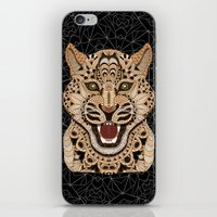 leopard iPhone & iPod Skins featuring Leopard by ArtLovePassion