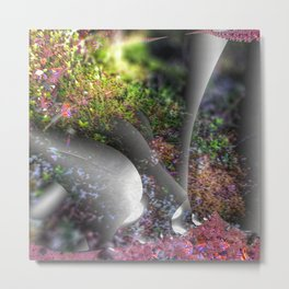 Plants of a fantasy forest Metal Print