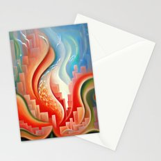 Hibiscus City Stationery Cards