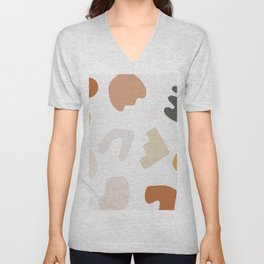 Abstract Shape Series - Autumn Color Study Unisex V-Neck