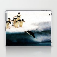 The Penguin Party - Painting Style Laptop & iPad Skin
