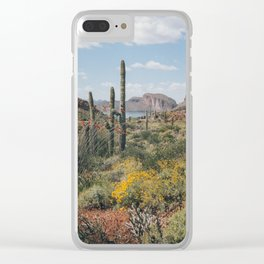 Arizona Spring Clear iPhone Case
