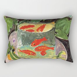 Henri Matisse Goldfish 1911, Goldfishes Artwork, Men, Women, Youth Rectangular Pillow