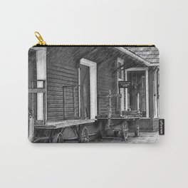 Train Station Platform Carry-All Pouch