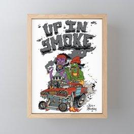 Cheech & Chong Love Machine Framed Mini Art Print