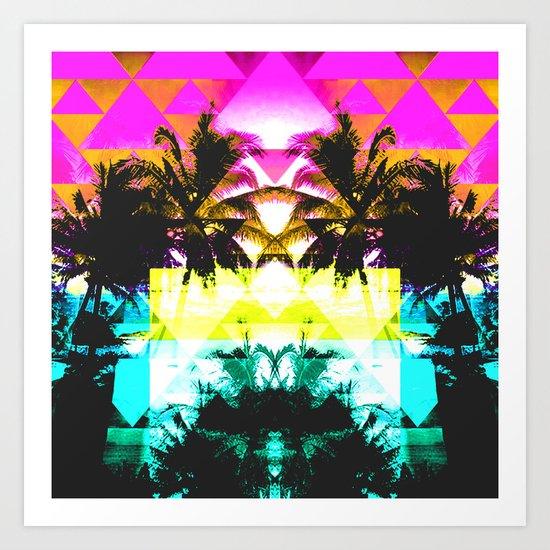 Hawaiian Quilt Art Print