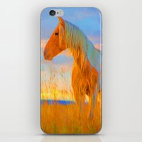 mustang iPhone & iPod Skins featuring Mustang by DigitalAndPhoto