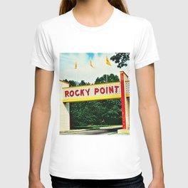 Rocky Point Amusement Park Photograph #2 – Warwick, Rhode Island T-shirt