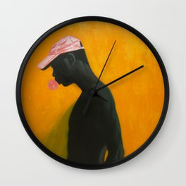 Time moves slow Wall Clock