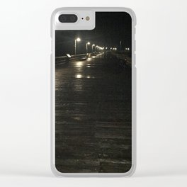 A walk alone Clear iPhone Case
