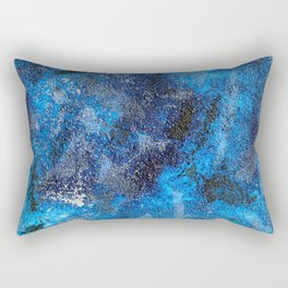 Blues Cosmos #3 Rectangular Pillow