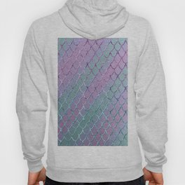 Mermaid Princess Glitter Scales Glam #1 #shiny #stripes #decor #art #society6 Hoody