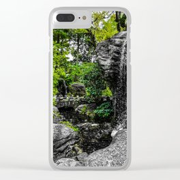 Flow of Water Clear iPhone Case
