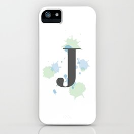 J iPhone Case
