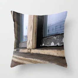 By The Freeway Throw Pillow