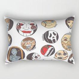 Horror Characters Rectangular Pillow